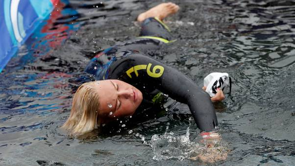 Open Water Swimming - Van Rouwendaal edged out in bid for fourth gold