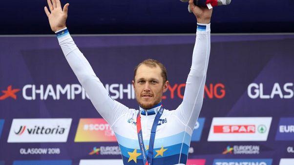 Trentin wins European road race after Sagan abandons