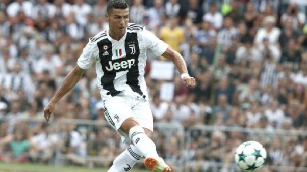 Amical: Cristiano Ronaldo a marqué ses deux premiers buts pour la Juventus