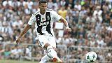 Juventus: la fête était belle et  Cristiano Ronaldo a marqué ses deux premiers buts