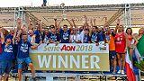 Beach Soccer, Catania campione d'Italia