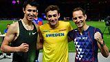 Euro d'athlétisme: Lavillenie en bronze, battu par les prodiges Duplantis et Morgunov
