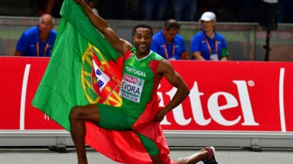 Euro d'athlétisme: le vétéran Evora enfin titré au triple saut