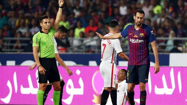 VAR used in Spanish football for first time
