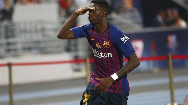 2-1 a Siviglia,Barça vince la Supercoppa