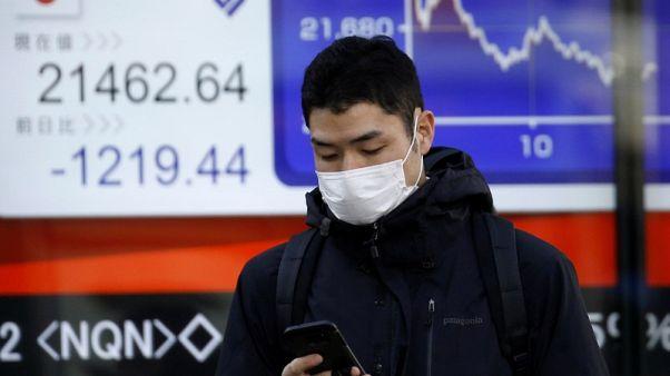 المؤشر نيكي يهبط 0.81% في بداية التعاملات بطوكيو
