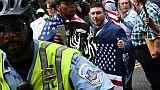 Une poignée de néonazis seulement à Washington, des centaines de contre-manifestants