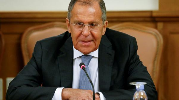 Russia's Lavrov to discuss planned four-way Syria summit in Ankara