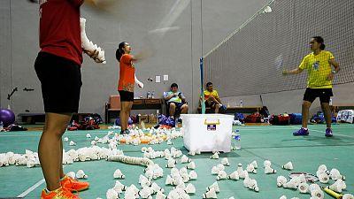 Indonesia's 'Minions' aim for badminton glory