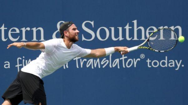Tennis: Mannarino qualifié pour le 2e tour à Cincinnati