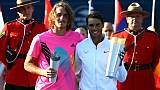 Classement ATP: Tsitsipas déboule dans le top 15, Nadal plus souverain que jamais