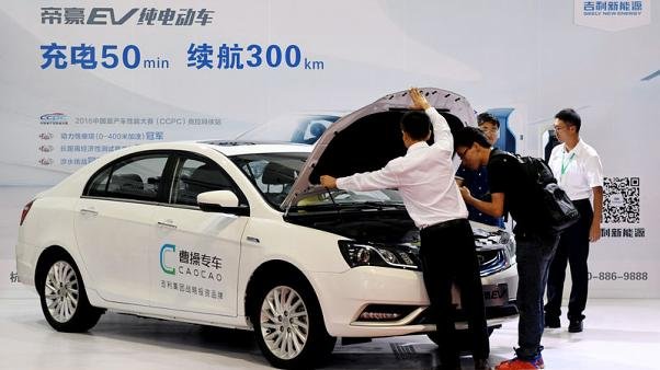 Two Chinese EV sharing platforms in $730 million push to fuel growth - sources