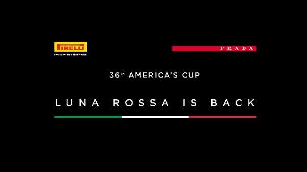 Torna Luna Rossa con Prada e Pirelli