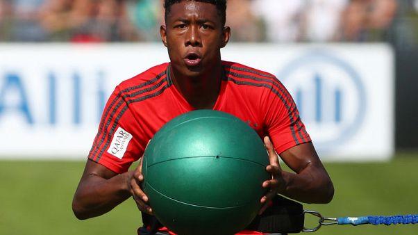 Bayern's Alaba escapes ligament damage