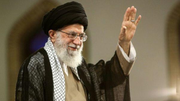 """Iran: """"pas de guerre, ni de négociations avec les Etats-Unis"""", affirme Khamenei"""