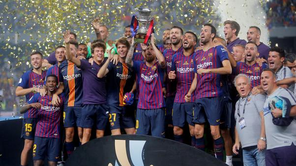 Barca primed to tighten grip on La Liga but Europe may be bigger priority