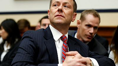 FBI agent Strzok, who criticized Trump in text messages, is fired