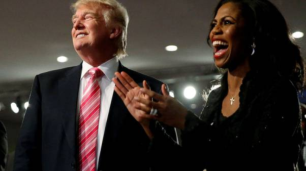 Trump says kept Omarosa because she 'said great things about me'