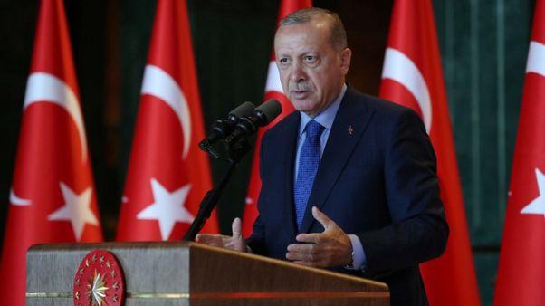 """أردوغان يتعهد بمحاسبة """"إرهابيين اقتصاديين"""" على تهاوي الليرة"""