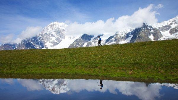 Ferragosto,sole e caldo in Valle d'Aosta