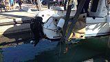 Barca affondata, forse tragica fatalità