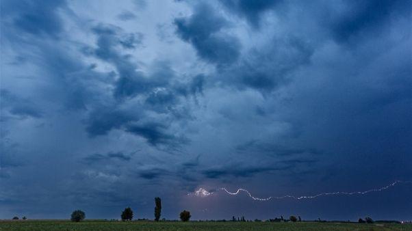 Maltempo: temporali spazzano il Veneto