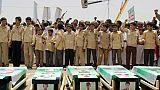 Yémen: manifestation lors des funérailles d'enfants tués dans un raid