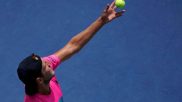 Tennis - Frenchman Pouille outlasts Murray in Cincinnati opener