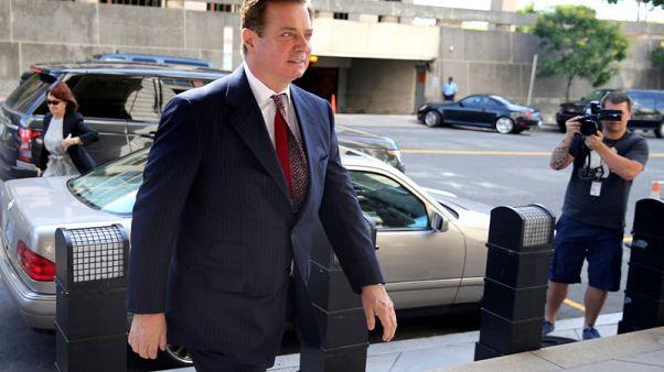 U.S. rests its case against former Trump aide Manafort