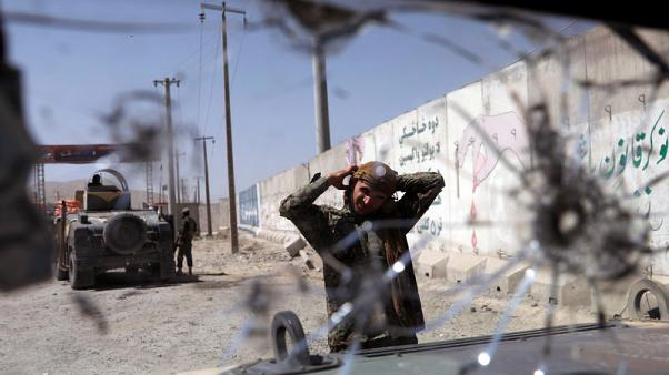 Afghan forces say regaining control of much of besieged city