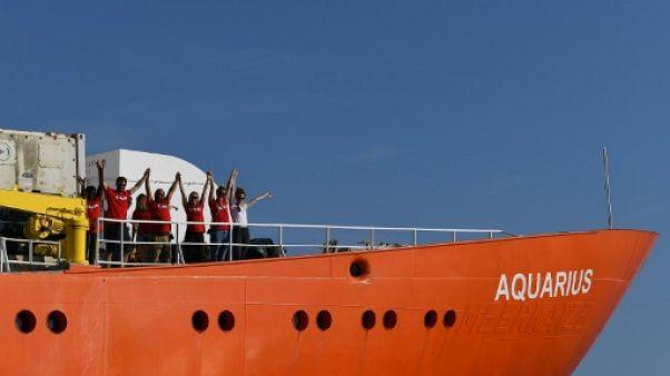 L'Aquarius autorisé à accoster à Malte, les migrants accueillis par cinq pays