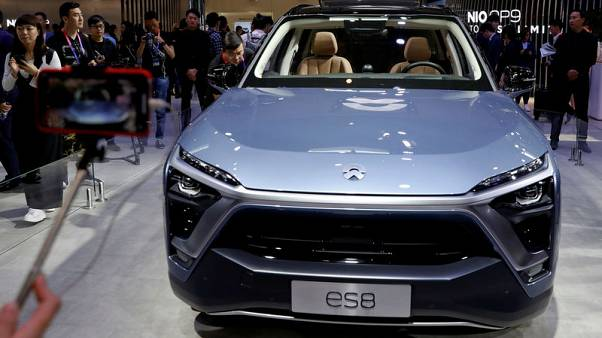 NIO seeks to raise $1.8 billion in biggest U.S. listing by China automaker