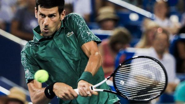 A Cincinnati ok Djokovic e Wawrinka