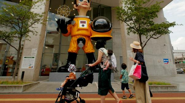 'Hazmat' suit statue near site of Japanese nuclear disaster sparks uproar