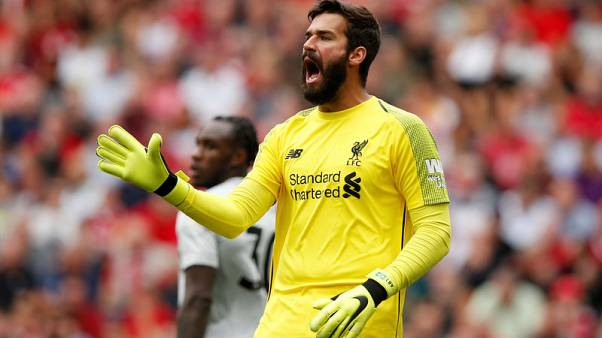 Van Dijk praises goalkeeper Alisson's impact on Liverpool defence