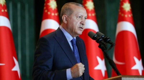 Le président turc Recep Tayyip Erdogan à Ankara, le 13 août 2018