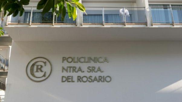 Le Brésilien Ronaldo rentre chez lui après son hospitalisation à Ibiza