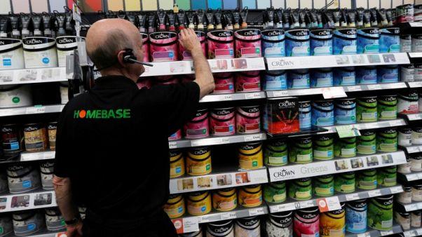 UK retailer Homebase to close 42 stores, 1,500 jobs to go