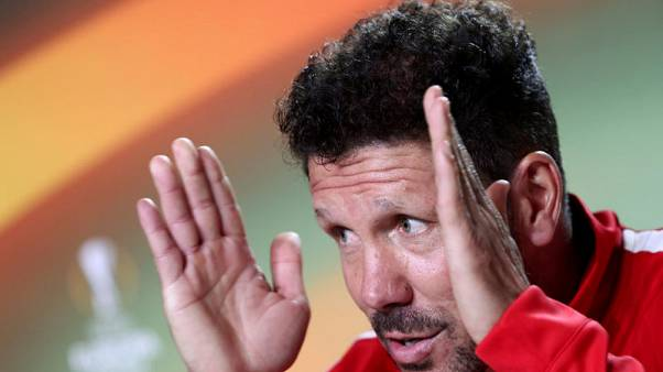Simeone believes emotion could decide Super Cup clash with Real
