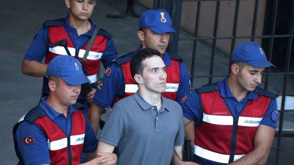 Turkish court releases two Greek soldiers pending spying trial - Anadolu Agency