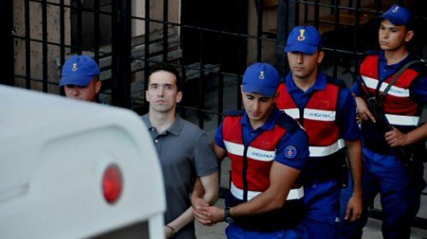 """La libération de deux soldats grecs est """"un acte de justice"""" salue Tsipras"""