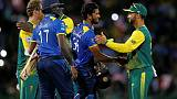 Spin trio lead Sri Lanka to victory in one-off T20