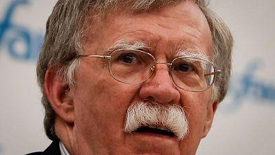 Trump adviser Bolton to meet Russians next week in Geneva