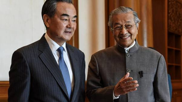 Billions hinge on Malaysia Mahathir's bid to woo project concessions from China