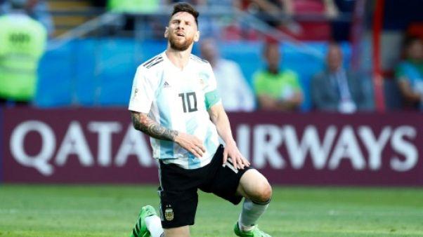 Argentine: Messi fait un break en sélection jusqu'à fin 2018
