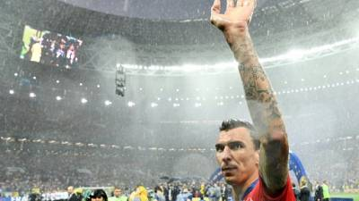 Le Croate Mandzukic annonce sa retraite internationale