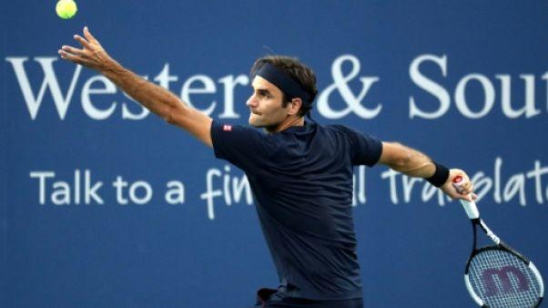 Retour gagnant pour Federer à Cincinnati