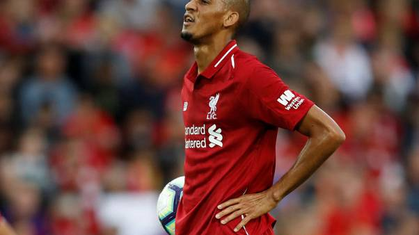 Fabinho relishing midfield battle at Liverpool
