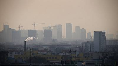 China's Hebei province vows 15 percent cut in smog by 2020