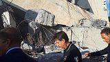 Crollo ponte:37 morti,5 non identificati